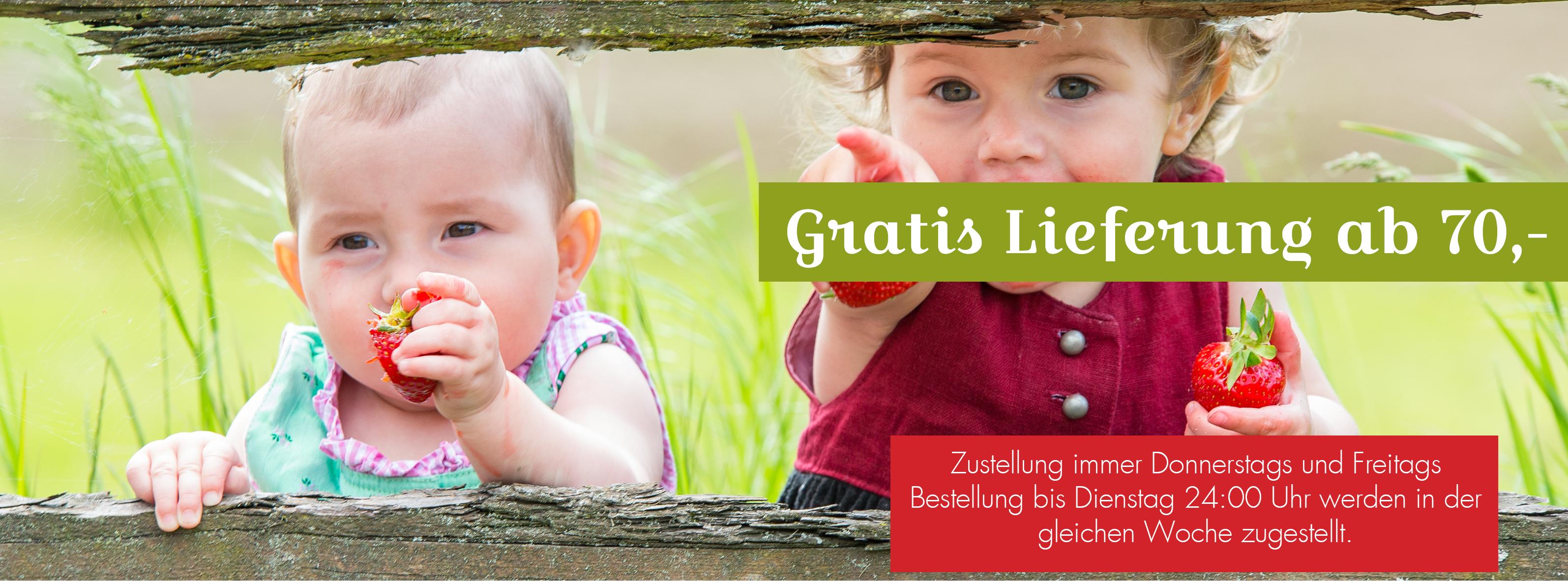 Banner gratis Lieferung